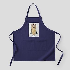 Yorkshire Terrier DRAMA QUEEN Apron (dark)