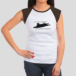 black cat thing T-Shirt