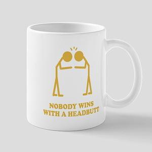 Nobody Wins With A Headbutt Mug