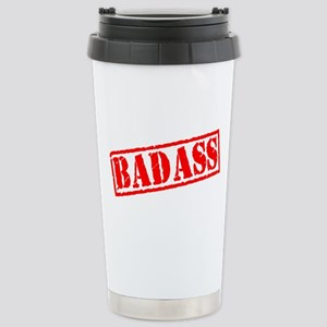 Badass Stamp Stainless Steel Travel Mug