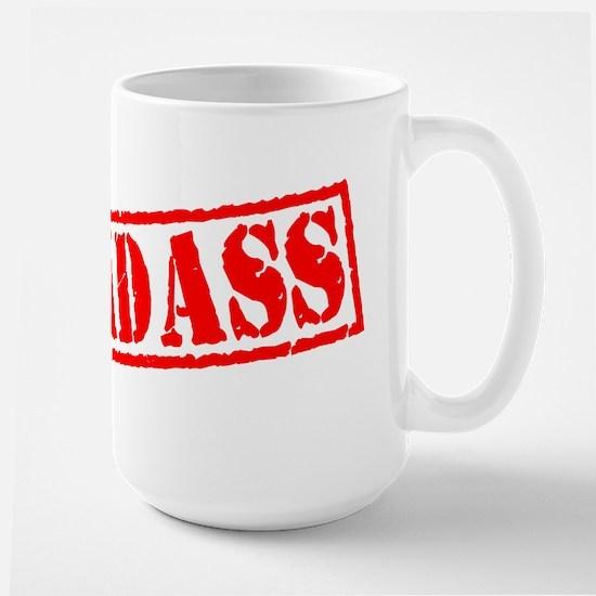 Badass Stamp Large Mug