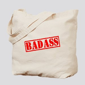 Badass Stamp Tote Bag