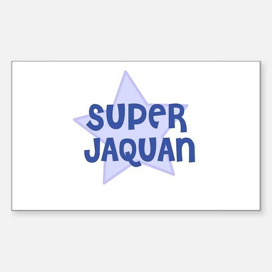 Super Jaquan Rectangle Decal
