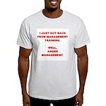 Anger Management Light T-Shirt