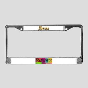 Alexis License Plate Frame