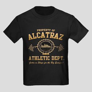 ALCATRAZ ATHLETIC DEPT. Kids Dark T-Shirt