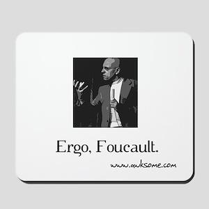 """Ergo, Foucault"" Mousepad"