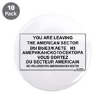 "Leaving The American Sector 3.5"" Button (10 p"