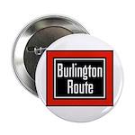Burlington Route Button (100 pack)