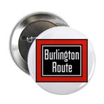 Burlington Route Button (10 pack)