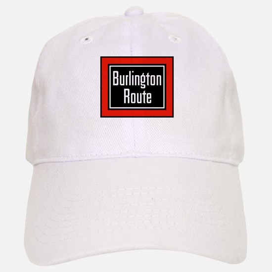 Burlington Route Baseball Baseball Cap
