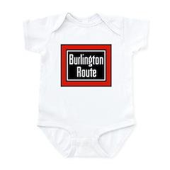 Burlington Route Infant Bodysuit