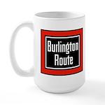 Burlington Route Large Mug