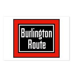 Burlington Route Postcards (8 pack)