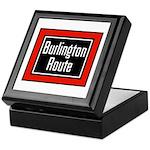 Burlington Route Keepsake Box