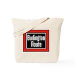 Burlington Route Tote Bag