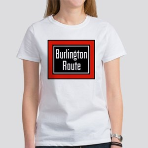 Burlington Route Women's T-Shirt