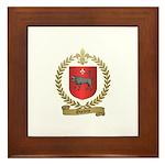 OUELETTE Family Crest Framed Tile