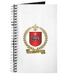 OUELETTE Family Crest Journal