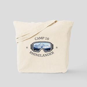 Camp 10 - Rhinelander - Wisconsin Tote Bag