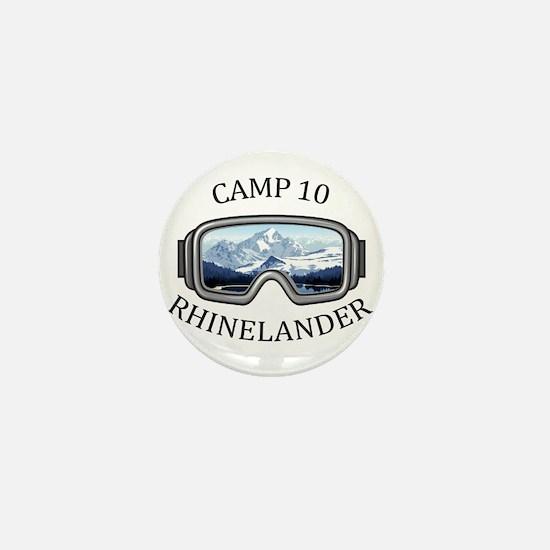 Camp 10 - Rhinelander - Wisconsin Mini Button