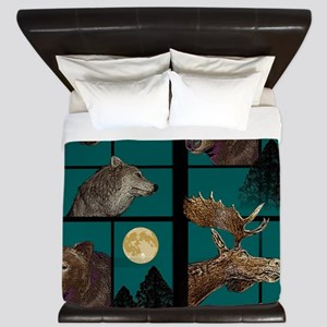 Wild Wilderness King Duvet