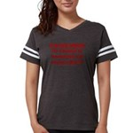 Racist Hate Speech Womens Football Shirt