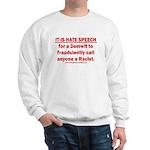 Racist Hate Speech Sweatshirt