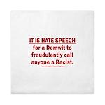 Racist Hate Speech Queen Duvet
