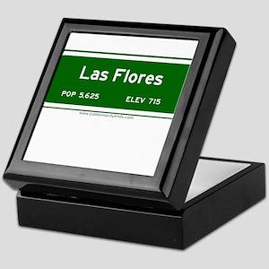 Las Flores Keepsake Box