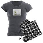 Inky Zo copy Women's Charcoal Pajamas