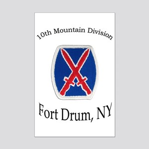 10TH MOUNTIAN DIV Mini Poster Print