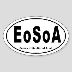 EoSoA Oval Sticker