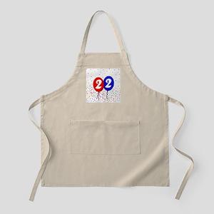 22nd Birthday BBQ Apron