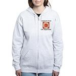 Support Your Fire Department Women's Zip Hoodie