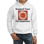 Support Your Fire Department Hooded Sweatshirt