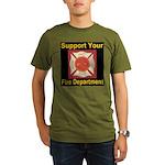 Support Your Fire Department Organic Men's T-Shirt