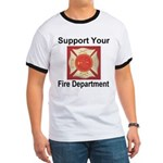 Support Your Fire Department Ringer T