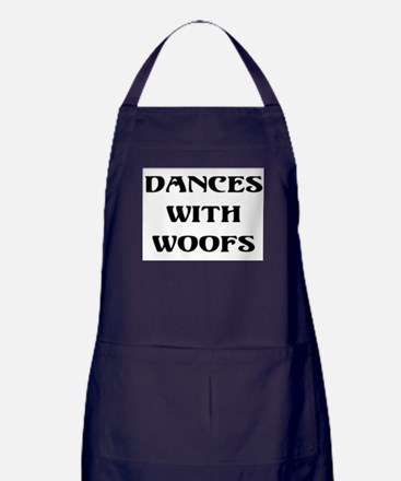 Dances with woofs Apron (dark)