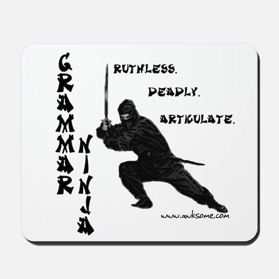 """Grammar Ninja"" Mousepad"