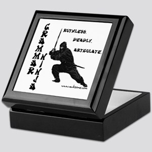 """Grammar Ninja"" Keepsake Box"