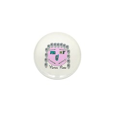 Betes Babe Mini Button (100 pack)