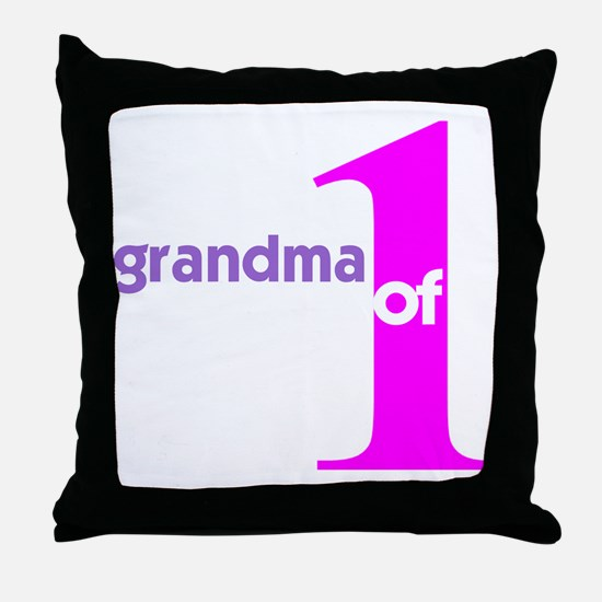 Mommy and Grandma Shirts Throw Pillow