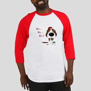 Beagle Santa's Cookies Baseball Jersey