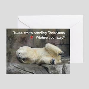 christmas wave Card