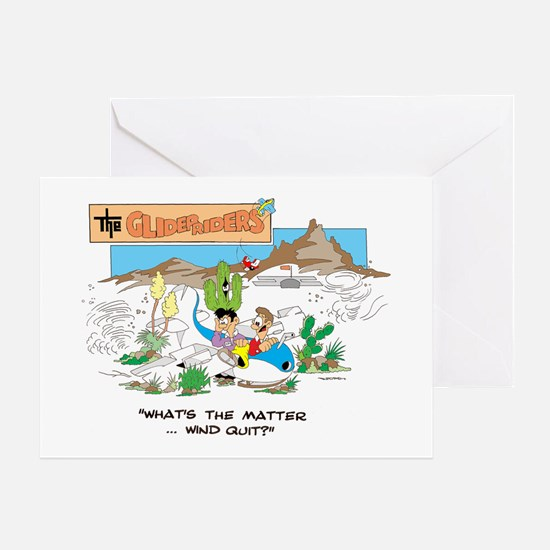 WHAT'S THE MATTER ... WIND QU Greeting Card