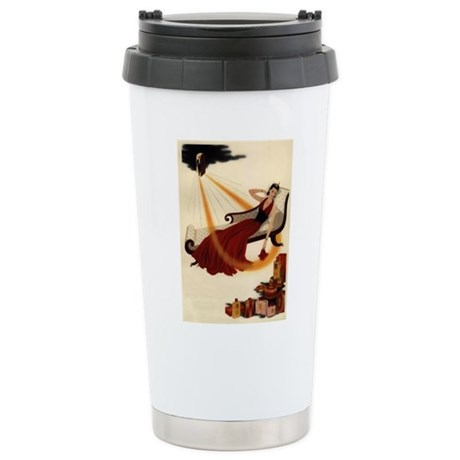 Art Deco Best Seller Stainless Steel Travel Mug