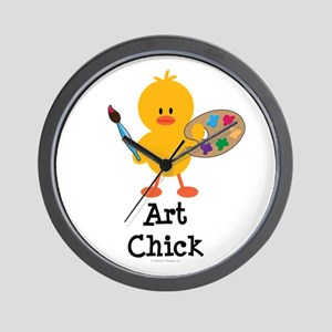 Art Chick Wall Clock
