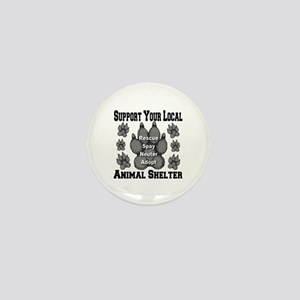 Support Your Local Animal She Mini Button