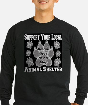 Support Your Local Animal She T